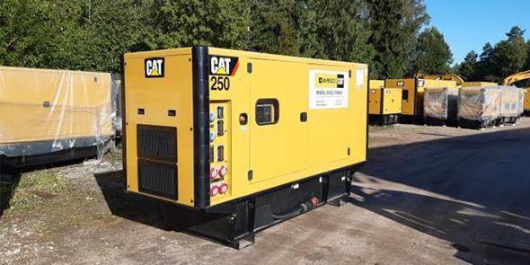 Käytetyt generaattorit